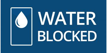 WATER BLOCKED