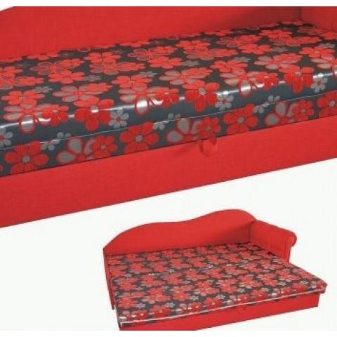 TIP Exkluzívna pohovka z poťahovej látky Vella, doplnená dekoračnými vankúšmi z modernej, žinilkovej látky ALINA.Ilustračný obrázok.